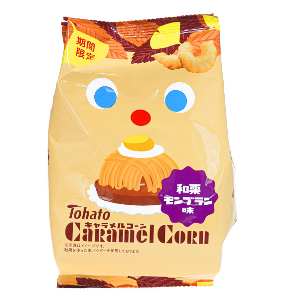 15709  tohato caramel corn mont blanc flavoured snacks