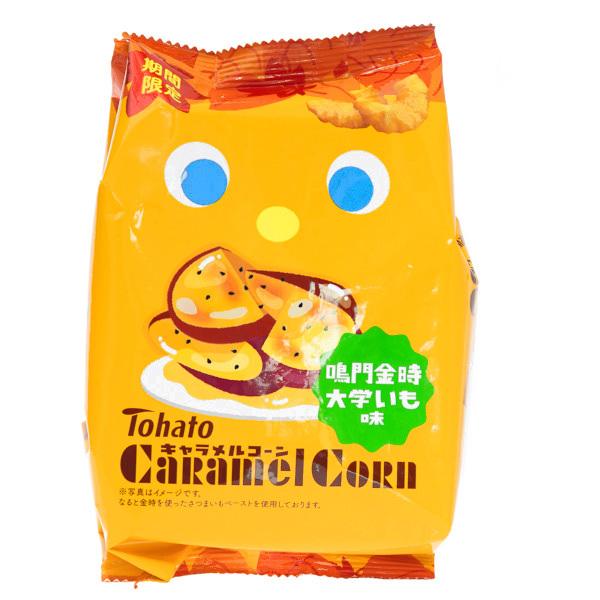 15710  tohato caramel corn daigaku imo sweet potato flavoured snacks