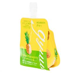 15696  bourbon gyuu pineapple jelly drink   side view