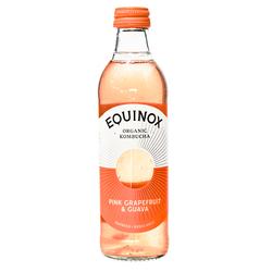 15736  equinox organic pink grapefruit   guava kombucha