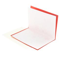 15727  hyogensha japanese congratulations card   hiragana  red   inside