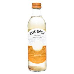 105  equinox organic ginger kombucha