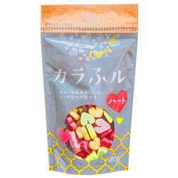 229  hitachiya honpo colourful heart shaped wheat gluten