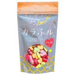 229  hitachiya honpo colourful heart shaped wheat gluten