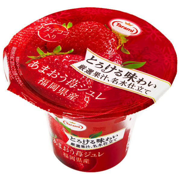 15798  tarami amaou strawberry flavoured fruit jelly