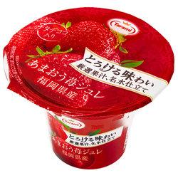 15798  tarami amaou strawberry flavoured fruit jelly
