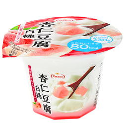 15799  tarami white peach flavoured annin tofu jelly dessert