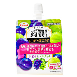 15800  tarami grape and muscat flavoured premium konjac jelly drink