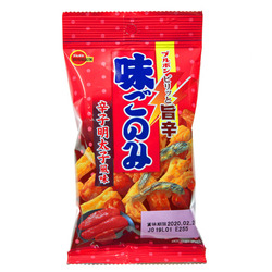 15802  bourbon aji gonomi karashi mentaiko spicy cod roe flavoured savoury mixed snacks
