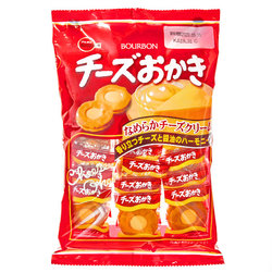 15804  bourbon cheese cream filled okaki rice crackers