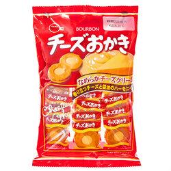 15804  bourbon cheese cream filled okaki rice crackers