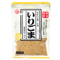 15825  kuki roasted white sesame seeds