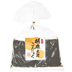 15826  tsutomu foods konnyaku yam cake with black sesame tofu