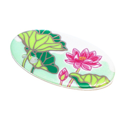 15774  shoyeido incense holder   lotus