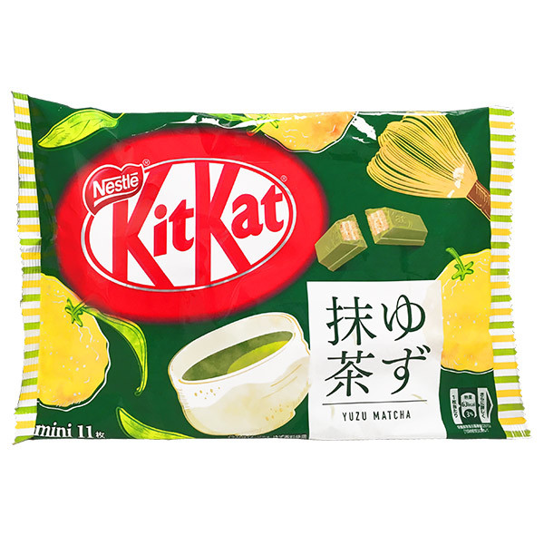 15975  nestl%c3%a9 kitkat mini share pack   yuzu citrus   matcha green tea