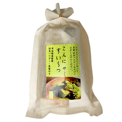 15984 uenoya konjac sweets with matcha green tea and black sugar syrup