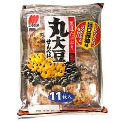 15988 sanko seika black soy bean rice crackers