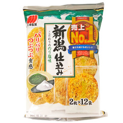 15991 sanko seika salt and nori flavoured rice crackers