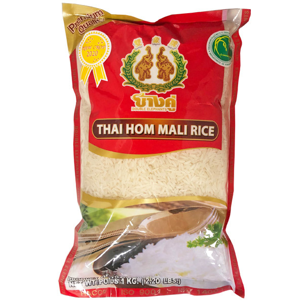16000 double elephants thai hom mali jasmine rice