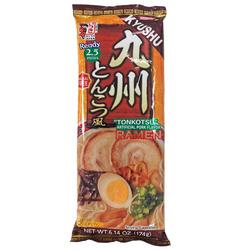 15996 itsuki kyushu style tonkotsu pork stock flavoured ramen noodles