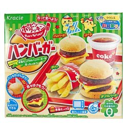 16035 kracie popin' cookin' hamburger candy kit