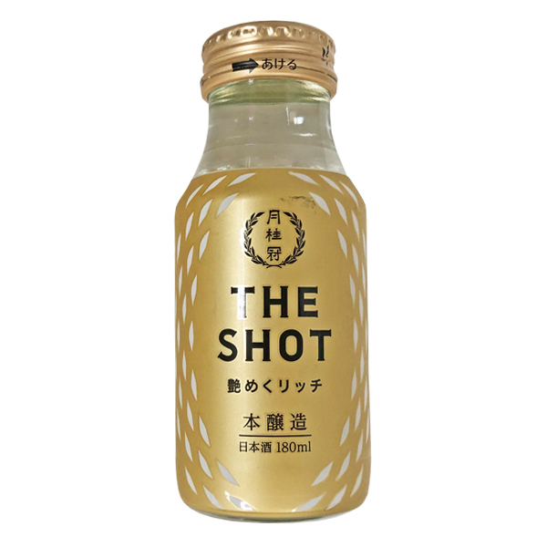 16065 gekkeikan 'the shot' namameku rich honjozo sake