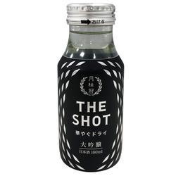 16047 gekkeikan 'the shot' hanayagu dry daiginjo sake
