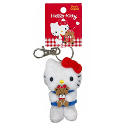 16165 sanrio hello kitty plush mini keychain