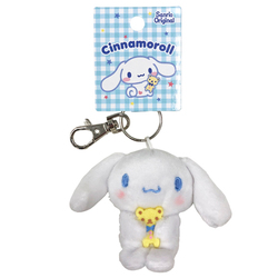 16168 sanrio cinnamoroll plush mini keychain