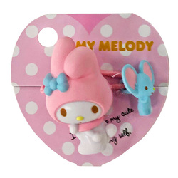 16175 sanrio my melody   friends mascot hair tie