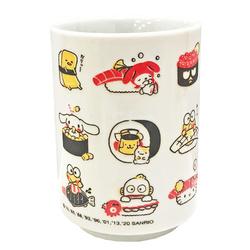 16189 sanrio sushi hello kitty yunomi ceramic tea cup
