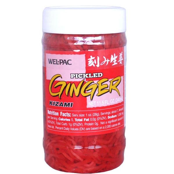 Wel Pac Pickled Ginger 326 G Japan Centre Pickles