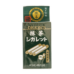 Candy sticks matcha