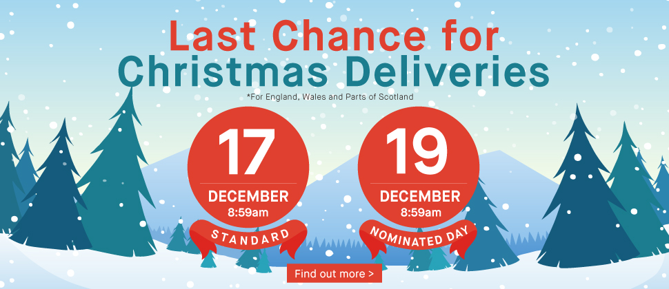 Last Chance Christmas Deliveries