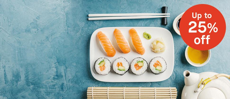 Sushi & Tea Fair A Classic Pairing