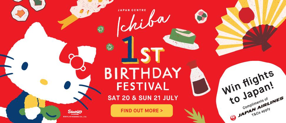 Japan Centre Ichiba First Birthday