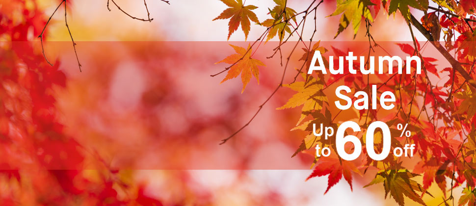 Autumn Sale Seasonal Savings