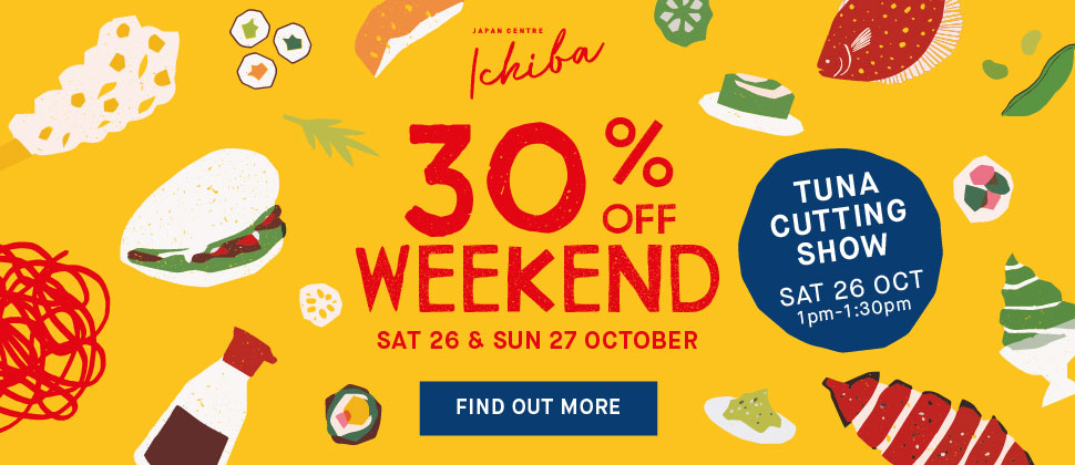 Ichiba 30% off Weekend