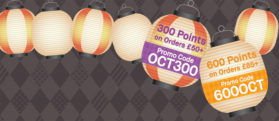 Extra Loyalty Points On Orders £50+*