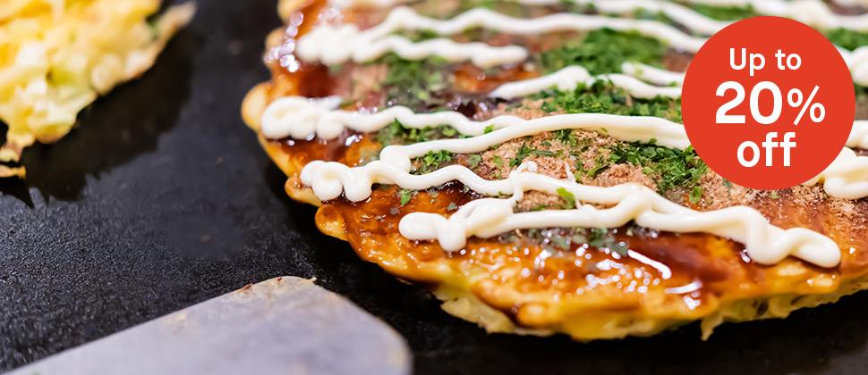 Japanese Pancake Day: Up to 20% off