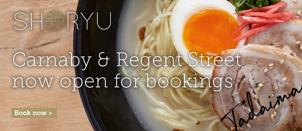 Shoryu Ramen Reopening Tuesday 7 July
