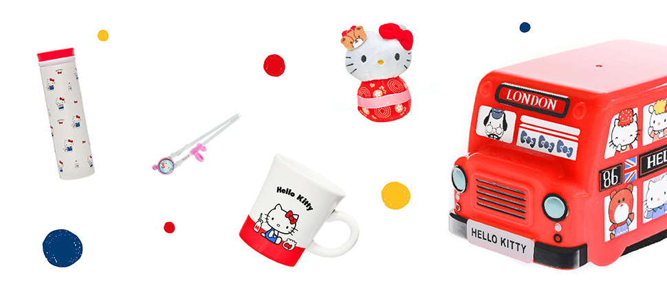 Up to 60% off Hello Kitty & Friends