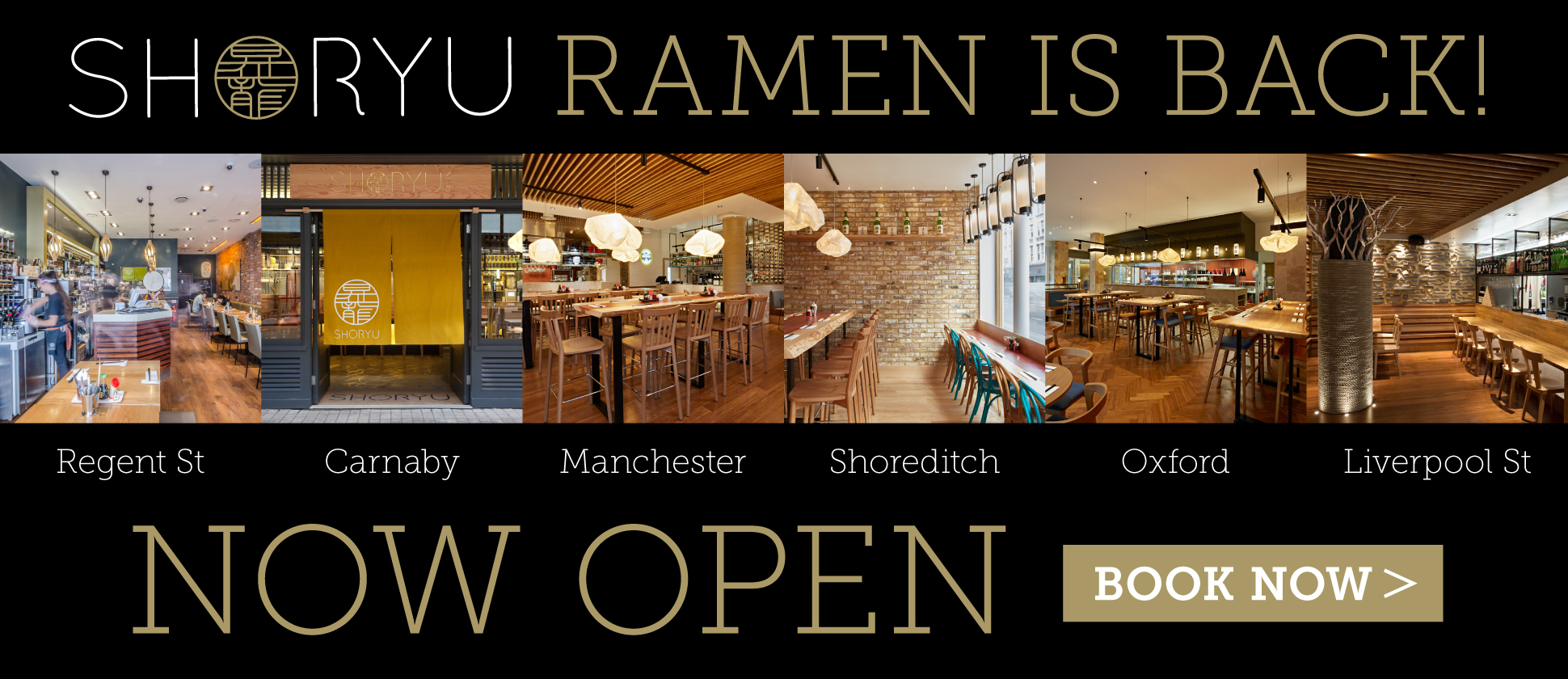 Shoryu Ramen Is Back! - Restaurant Openings