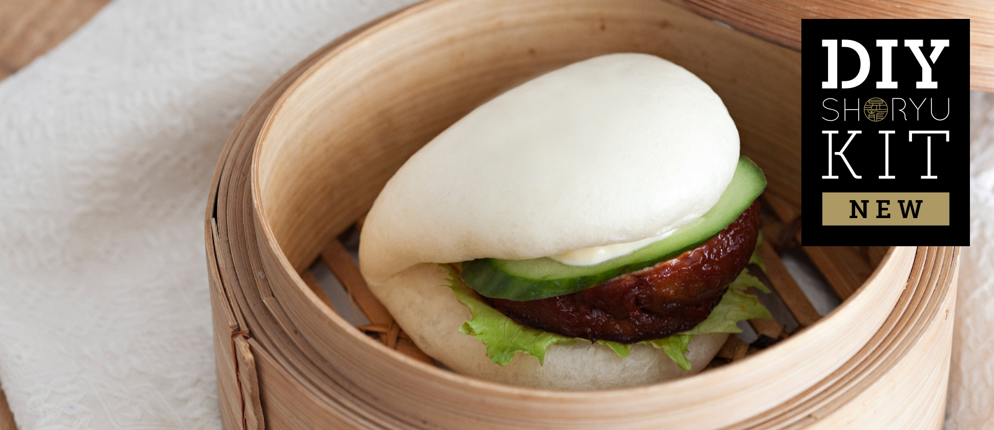 New DIY Shoryu Kits Fluffy BBQ Pork Buns