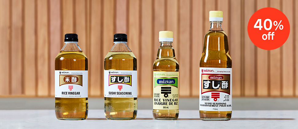 Enjoy 40% Off Mizkan Rice Vinegar