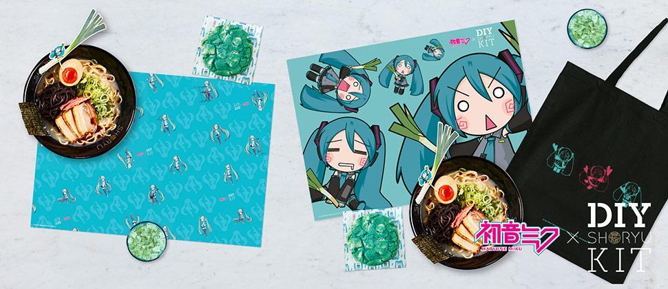 Hatsune Miku X Shoryu DIY Kits