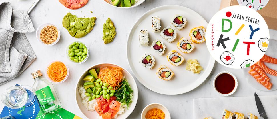 Japan Centre DIY Kits Sushi, Poke & Cookies