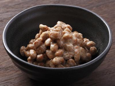 Natto fermented soy bean marmite