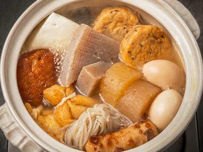 Oden japanese soup winter hot pot