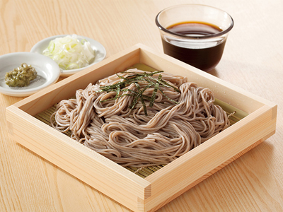 Healthy buckwheat soba noodles